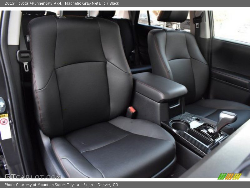 Front Seat of 2019 4Runner SR5 4x4