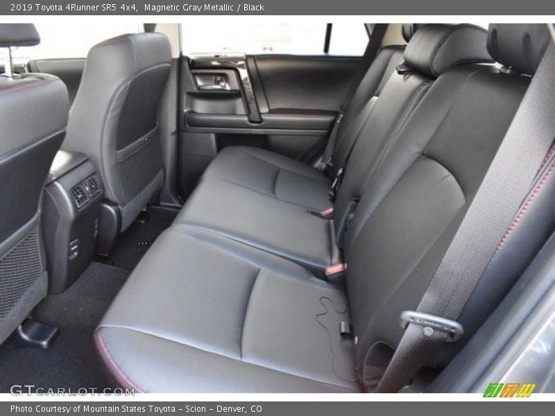 Rear Seat of 2019 4Runner SR5 4x4