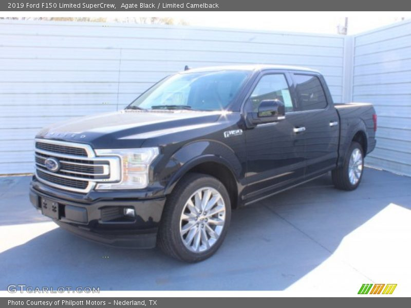 Agate Black / Limited Camelback 2019 Ford F150 Limited SuperCrew