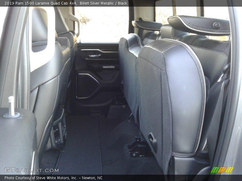 Billett Silver Metallic / Black 2019 Ram 1500 Laramie Quad Cab 4x4