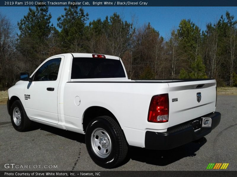 Bright White / Black/Diesel Gray 2019 Ram 1500 Classic Tradesman Regular Cab