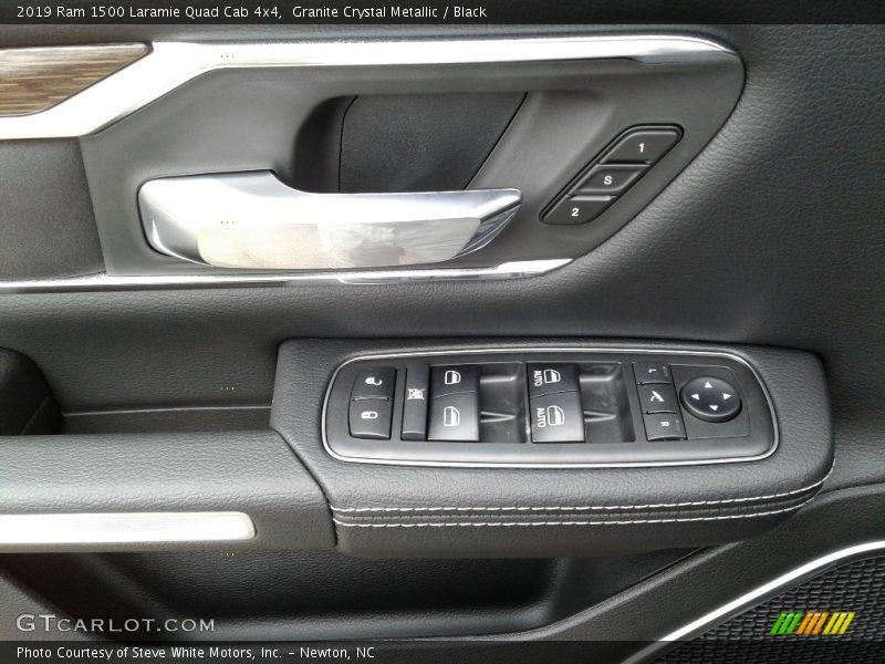 Door Panel of 2019 1500 Laramie Quad Cab 4x4