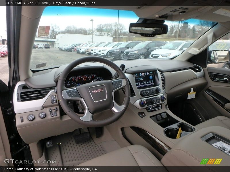 2019 Yukon SLT 4WD Cocoa/Dune Interior