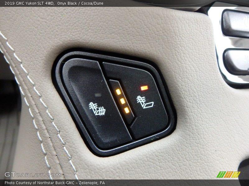 Controls of 2019 Yukon SLT 4WD