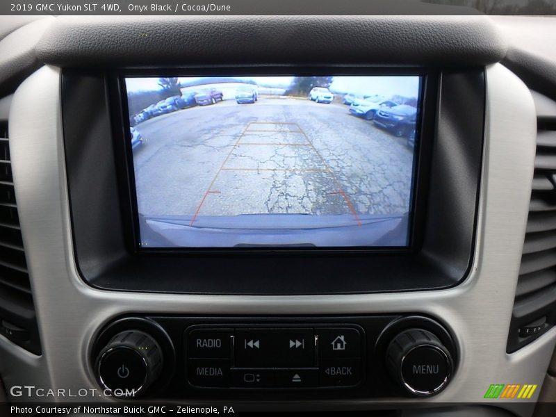 Onyx Black / Cocoa/Dune 2019 GMC Yukon SLT 4WD