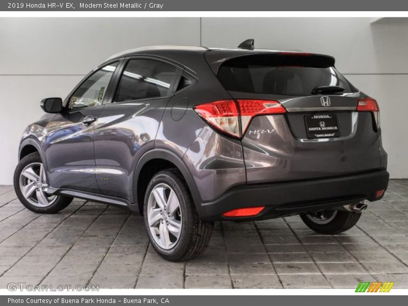 Modern Steel Metallic / Gray 2019 Honda HR-V EX