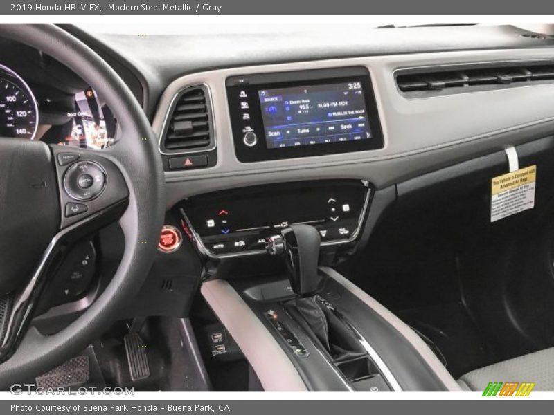 Modern Steel Metallic / Gray 2019 Honda HR-V EX