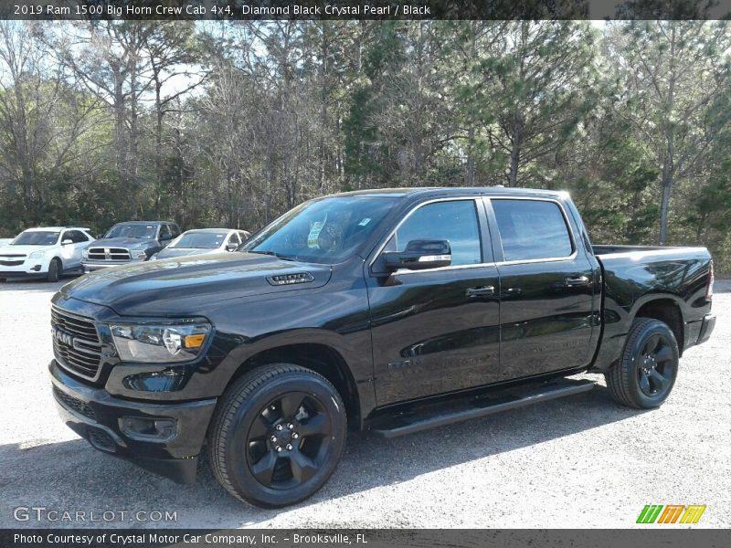 Diamond Black Crystal Pearl / Black 2019 Ram 1500 Big Horn Crew Cab 4x4