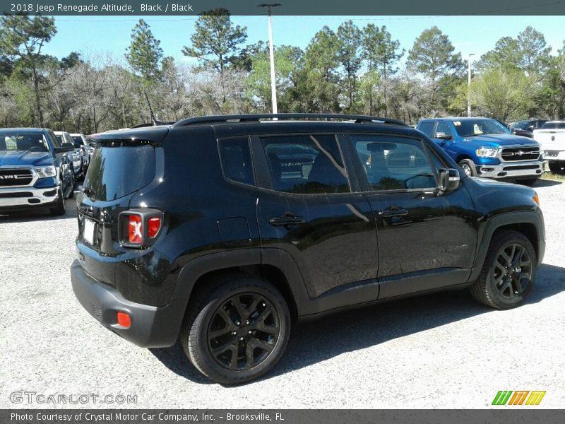 Black / Black 2018 Jeep Renegade Altitude