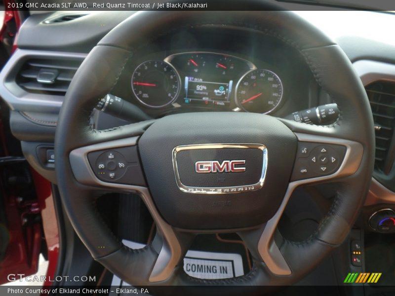2019 Acadia SLT AWD Steering Wheel