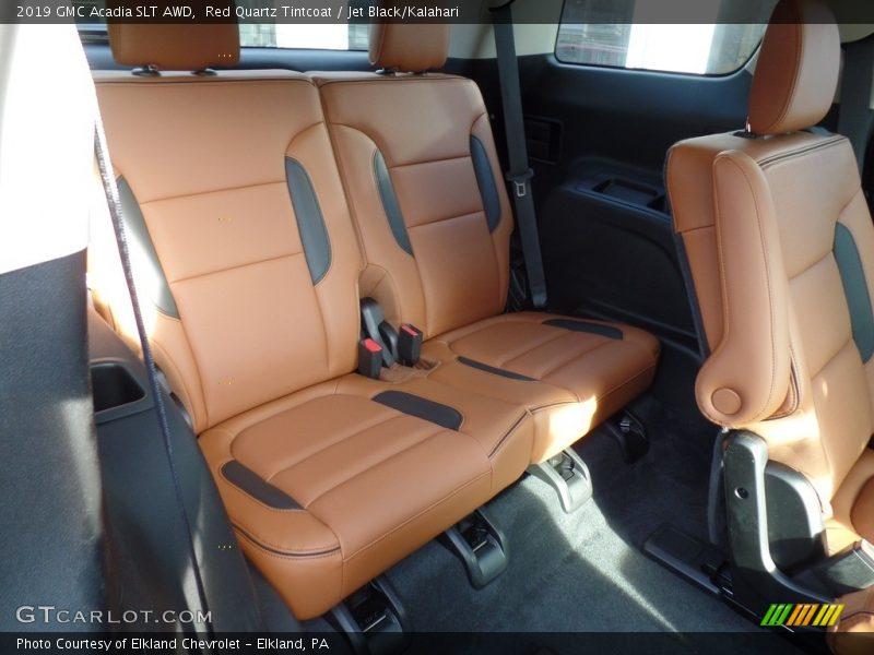 Rear Seat of 2019 Acadia SLT AWD