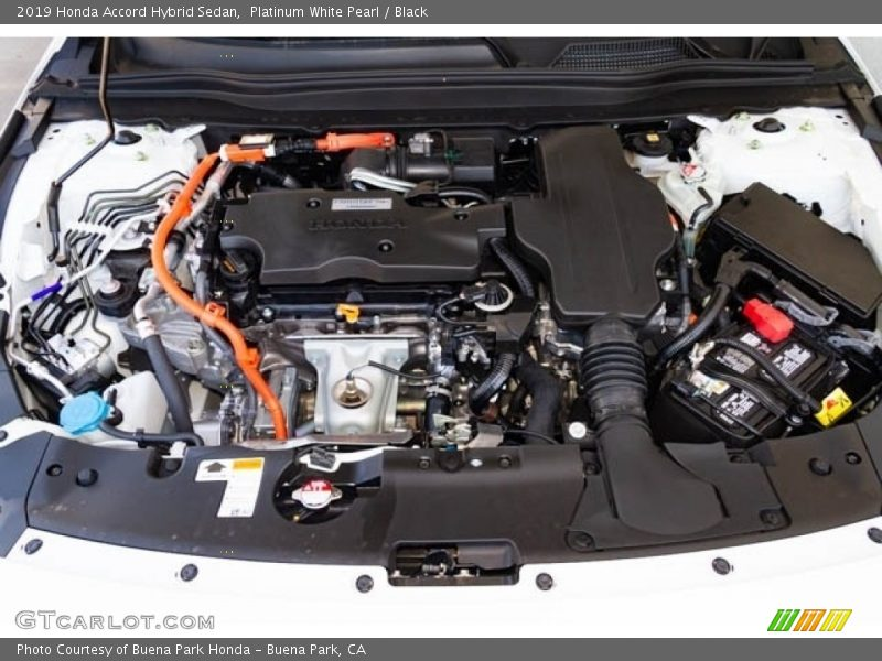 2019 Accord Hybrid Sedan Engine - 2.0 Liter DOHC 16-Valve VTEC 4 Cylinder Gasoline/Electric Hybrid