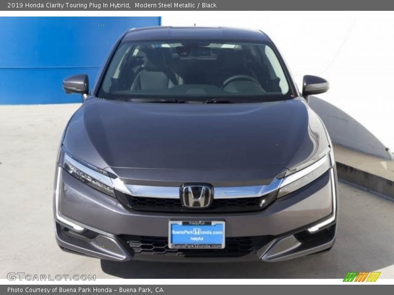 Modern Steel Metallic / Black 2019 Honda Clarity Touring Plug In Hybrid