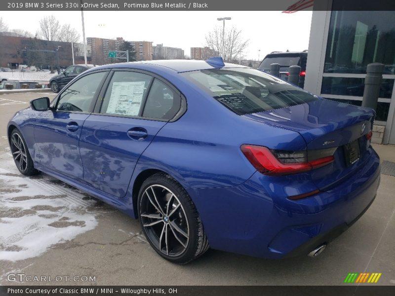 Portimao Blue Metallic / Black 2019 BMW 3 Series 330i xDrive Sedan