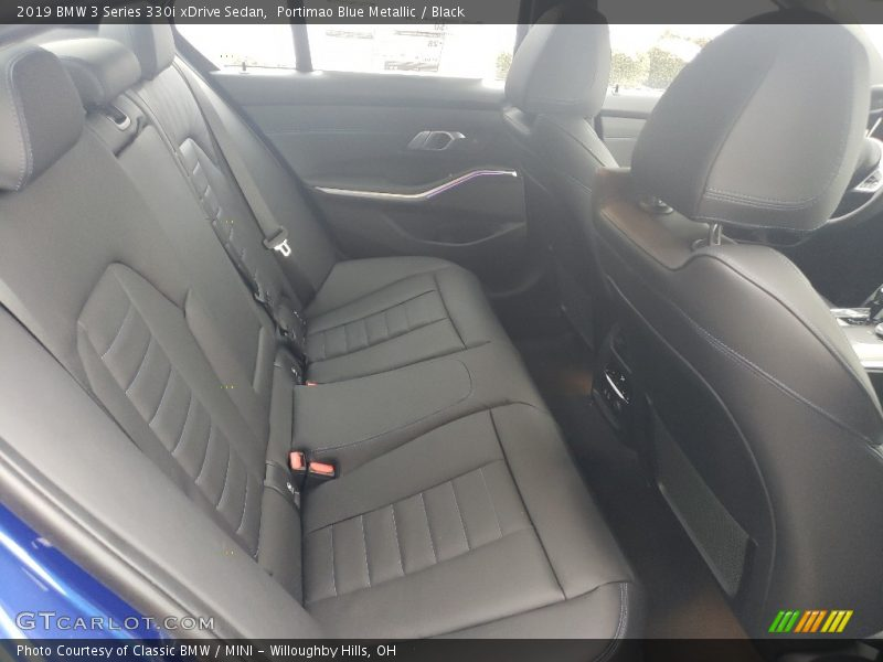 Rear Seat of 2019 3 Series 330i xDrive Sedan