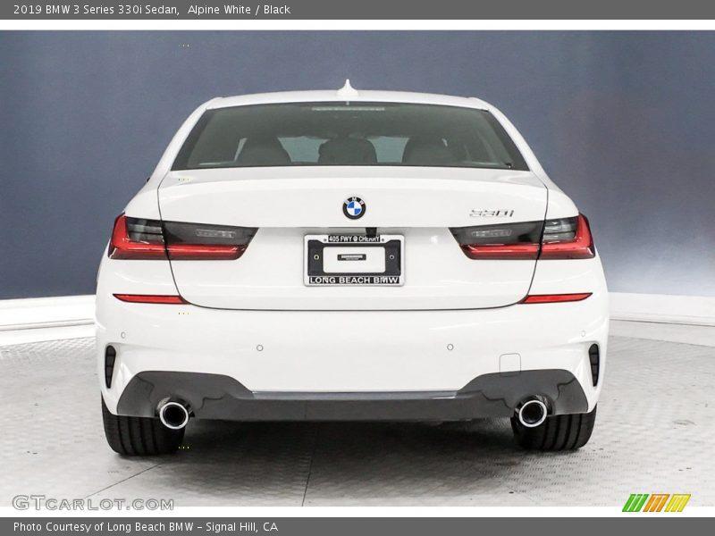 Alpine White / Black 2019 BMW 3 Series 330i Sedan