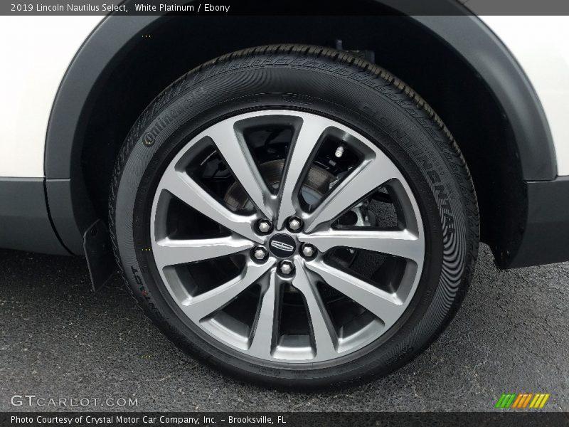2019 Nautilus Select Wheel