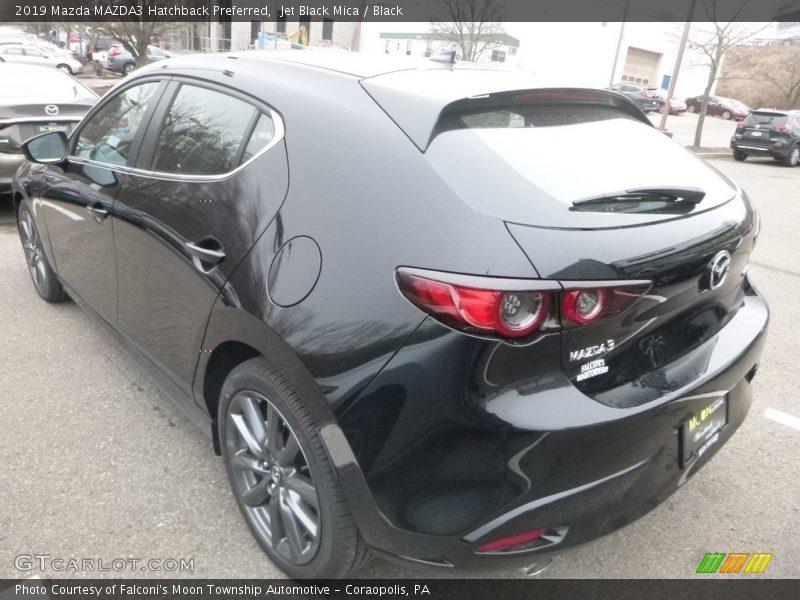 Jet Black Mica / Black 2019 Mazda MAZDA3 Hatchback Preferred