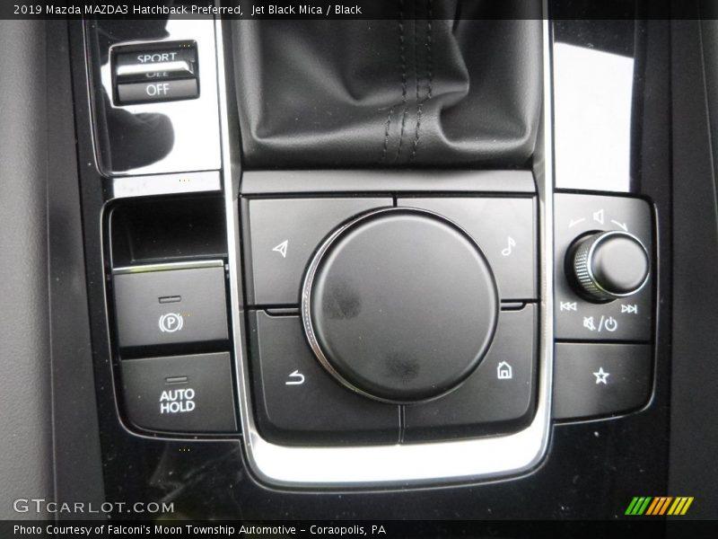 Controls of 2019 MAZDA3 Hatchback Preferred