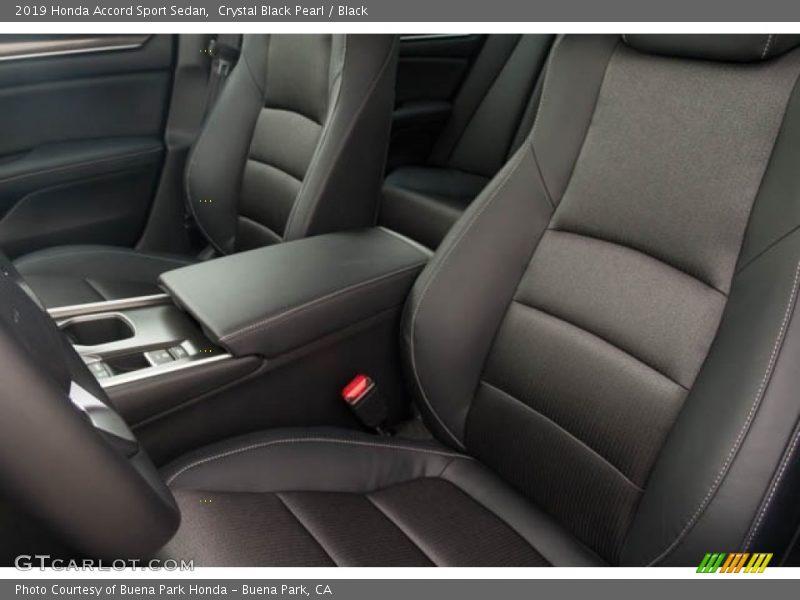 Crystal Black Pearl / Black 2019 Honda Accord Sport Sedan