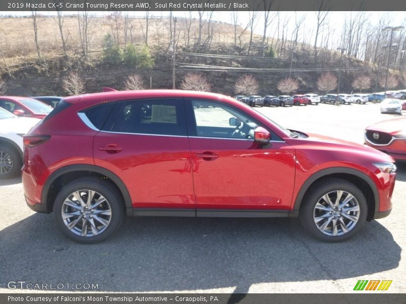 Soul Red Crystal Metallic / Black 2019 Mazda CX-5 Grand Touring Reserve AWD