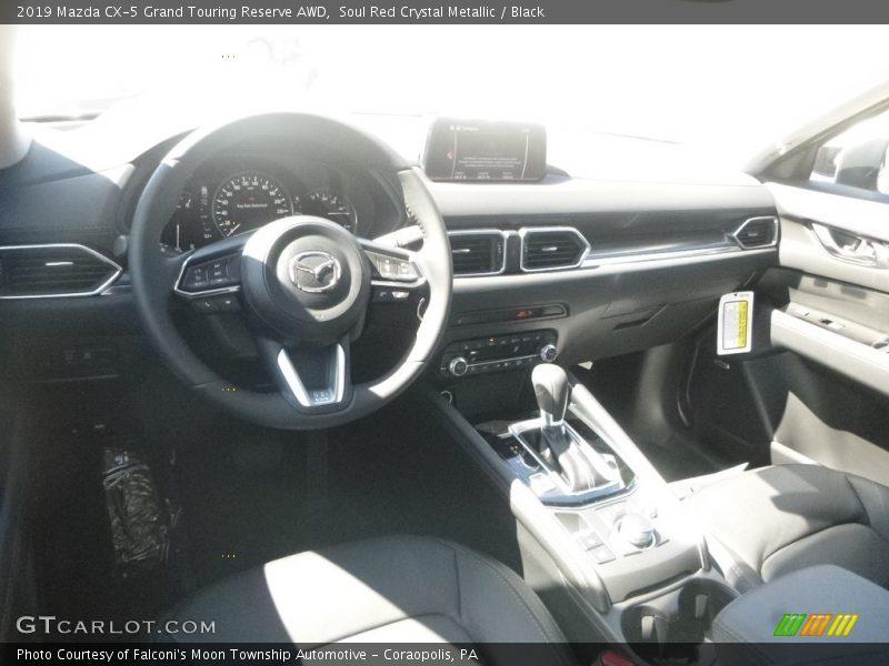 Soul Red Crystal Metallic / Black 2019 Mazda CX-5 Grand Touring Reserve AWD