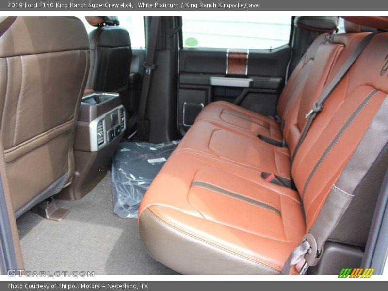 White Platinum / King Ranch Kingsville/Java 2019 Ford F150 King Ranch SuperCrew 4x4