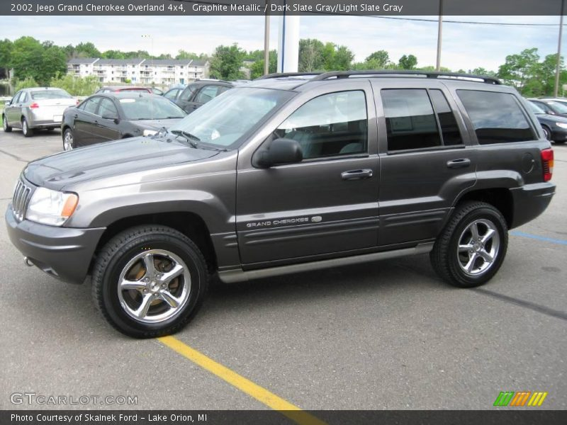 2002 jeep grand cherokee overland 4x4 in graphite metallic. Black Bedroom Furniture Sets. Home Design Ideas