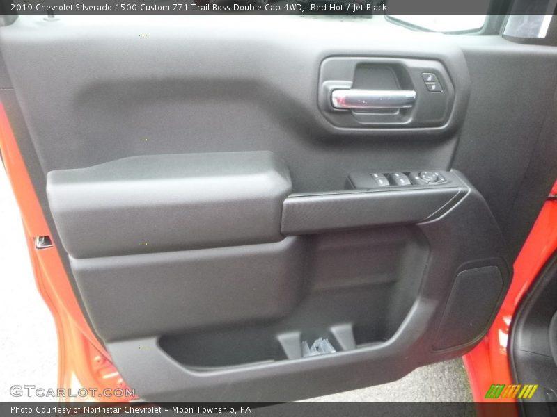 Red Hot / Jet Black 2019 Chevrolet Silverado 1500 Custom Z71 Trail Boss Double Cab 4WD