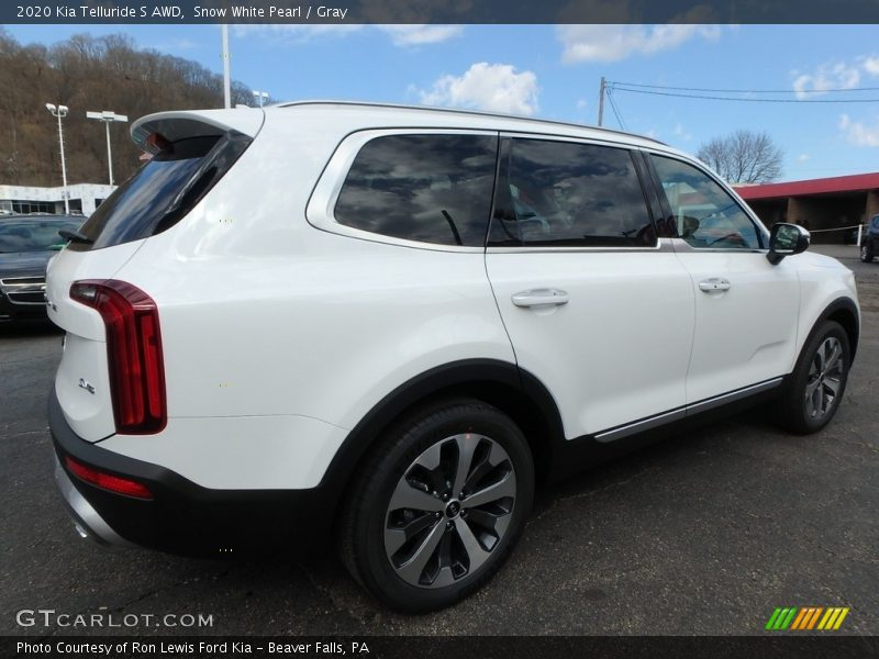 2020 Telluride S AWD Snow White Pearl