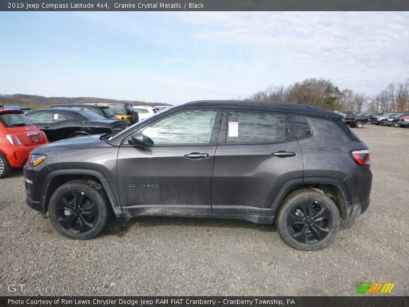 Granite Crystal Metallic / Black 2019 Jeep Compass Latitude 4x4