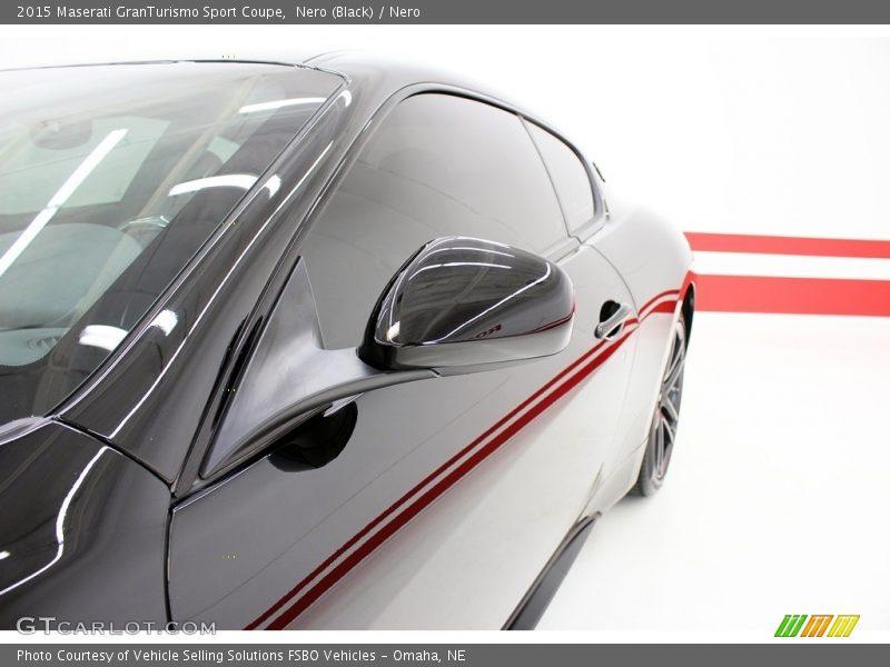 Nero (Black) / Nero 2015 Maserati GranTurismo Sport Coupe