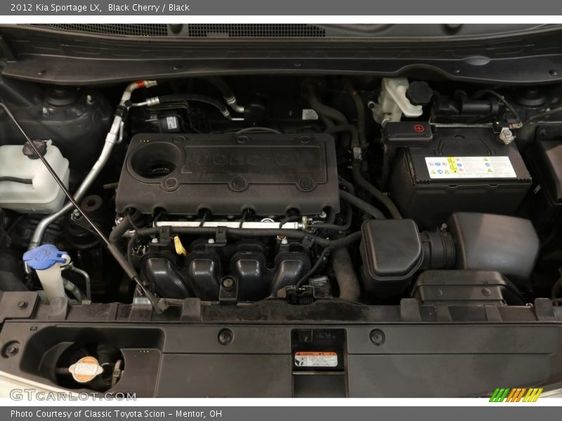 Black Cherry / Black 2012 Kia Sportage LX