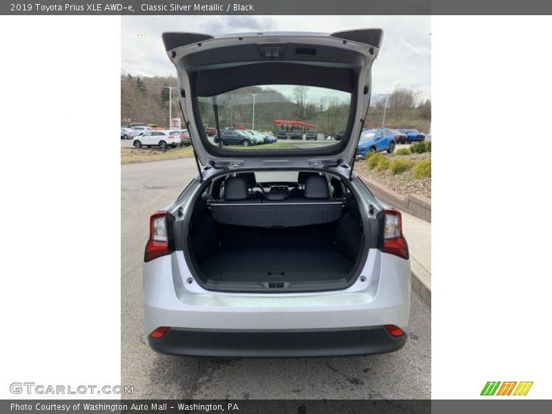 2019 Prius XLE AWD-e Trunk