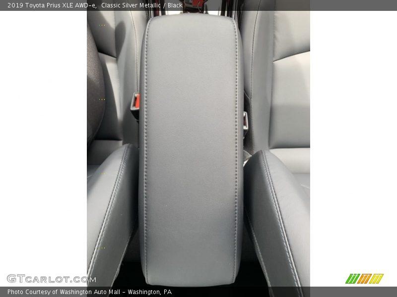 Classic Silver Metallic / Black 2019 Toyota Prius XLE AWD-e