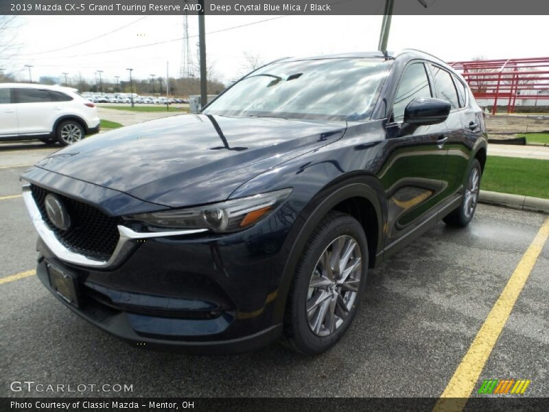 Deep Crystal Blue Mica / Black 2019 Mazda CX-5 Grand Touring Reserve AWD