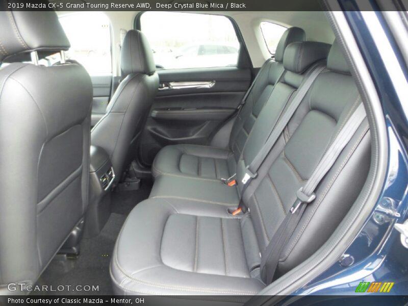 Deep Crystal Blue Mica / Black 2019 Mazda CX-5 Grand Touring Reserve AWD