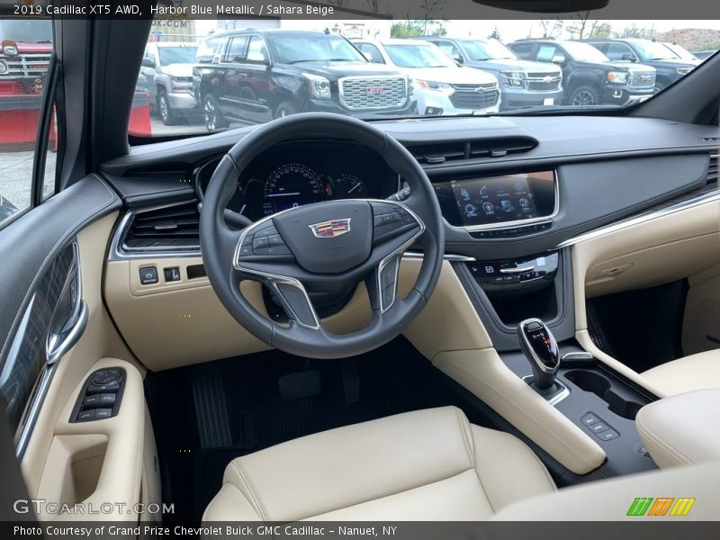2019 XT5 AWD Sahara Beige Interior