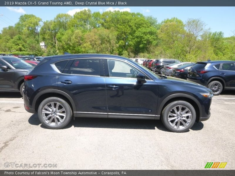 2019 CX-5 Grand Touring AWD Deep Crystal Blue Mica