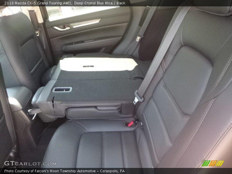 Deep Crystal Blue Mica / Black 2019 Mazda CX-5 Grand Touring AWD