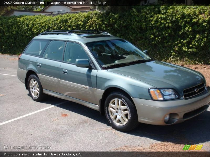2002 subaru outback limited wagon in wintergreen metallic. Black Bedroom Furniture Sets. Home Design Ideas
