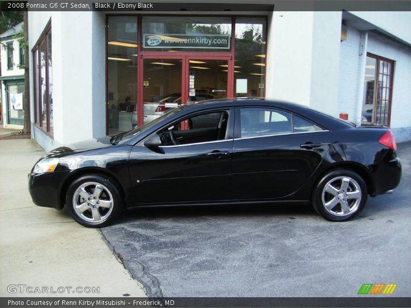2008 Pontiac G6 GT Sedan in Black Photo No. 13351220 | GTCarLot.com