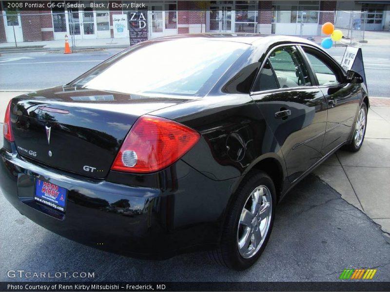2008 pontiac g6 gt sedan in black photo no 13351360. Black Bedroom Furniture Sets. Home Design Ideas