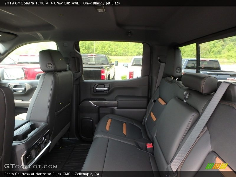 Rear Seat of 2019 Sierra 1500 AT4 Crew Cab 4WD