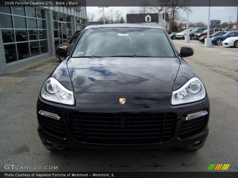 Black / Black 2008 Porsche Cayenne GTS