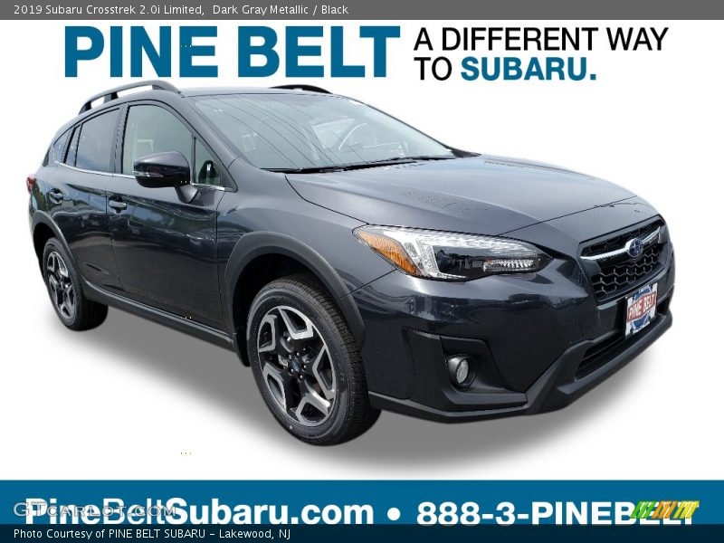 Dark Gray Metallic / Black 2019 Subaru Crosstrek 2.0i Limited