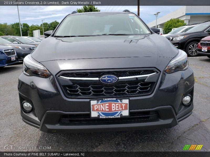 Dark Gray Metallic / Black 2019 Subaru Crosstrek 2.0i Limited