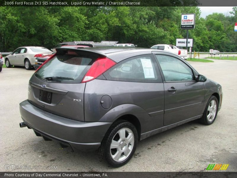 2006 ford focus zx3 ses hatchback in liquid grey metallic. Black Bedroom Furniture Sets. Home Design Ideas