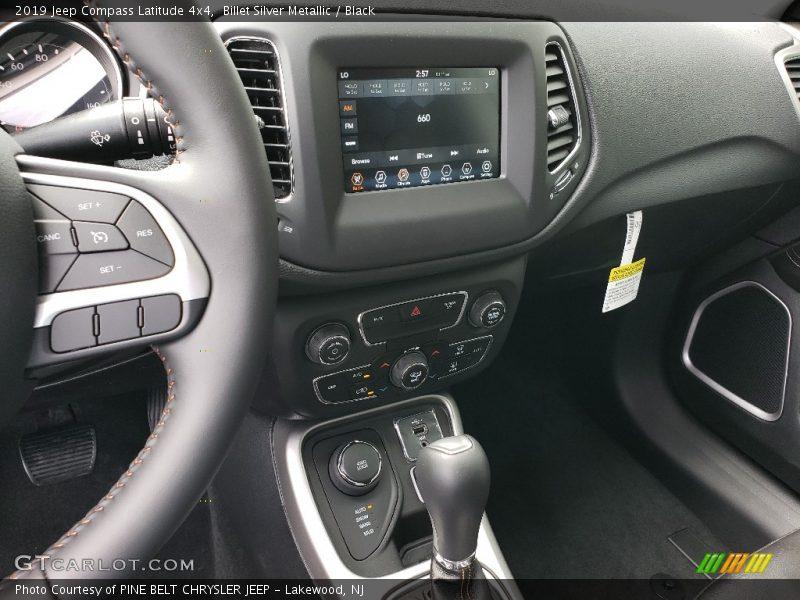 Billet Silver Metallic / Black 2019 Jeep Compass Latitude 4x4