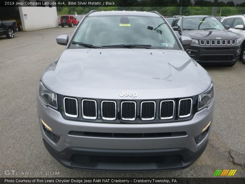 Billet Silver Metallic / Black 2019 Jeep Compass Latitude 4x4